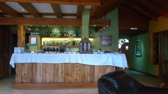 Charming - Luxury Lodge & Private Spa: Bar
