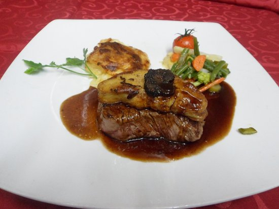 Le Filet de Bœuf Rossini