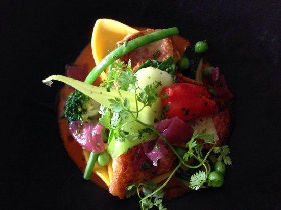 Le 5ème: Filets de rougets sauce Marseillaise