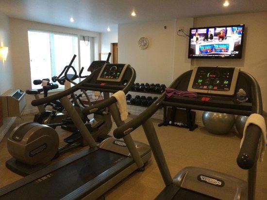 Hotel Le Bonne Entente: Gym