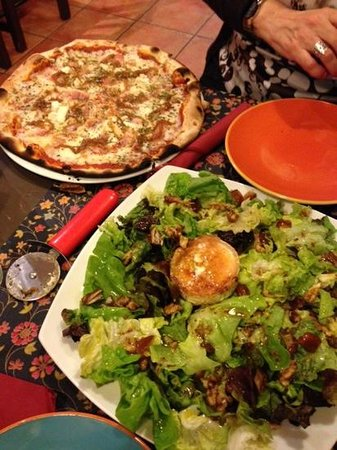 Pizzeria RUMBERA : Pizza y Ensalada