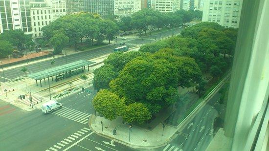 Eurobuilding Hotel Boutique Buenos Aires: Vista para 9 de Julho