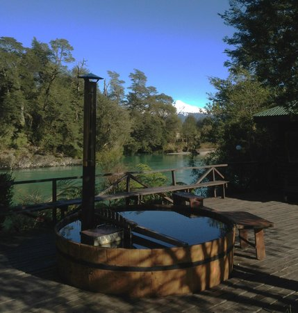 Puelo, Chile: Hot tub