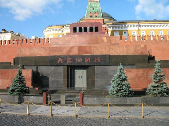 Lenin's Mausoleum : Мавзолей летом
