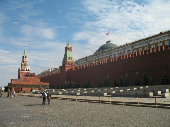 Lenin's Mausoleum : Сравнительные размеры мавзолея