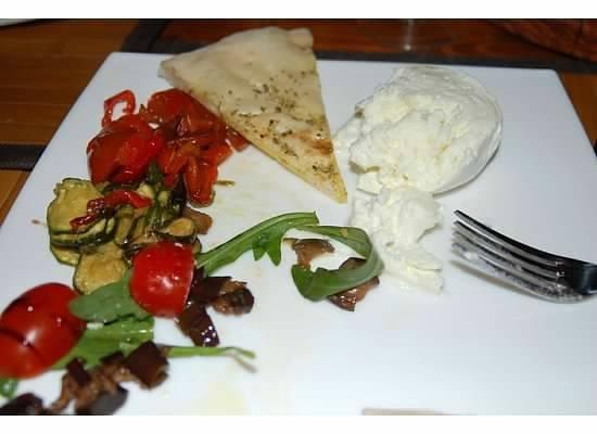 Inn Bufalito Taverna Mediterranea: best grilled vegetables I've ever had