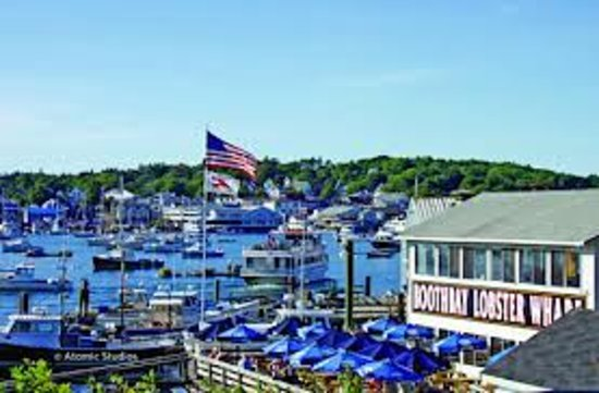 Boothbay Lobster Wharf: Come enjoy the best view in town!