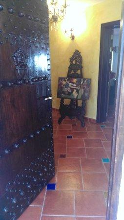 Malaga Hotel Picasso: Entrance