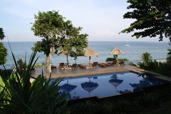 Sunset House Lombok: View from room