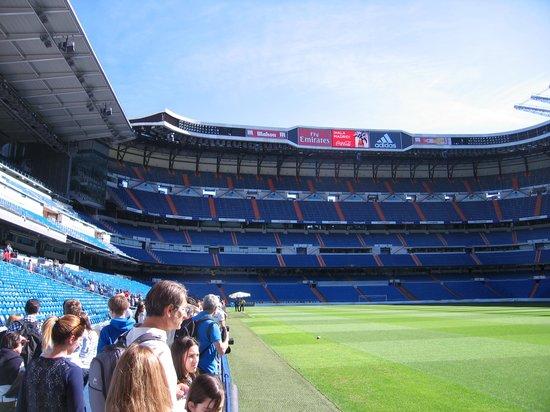 Estadio Santiago Bernabéu: ピッチそのもの