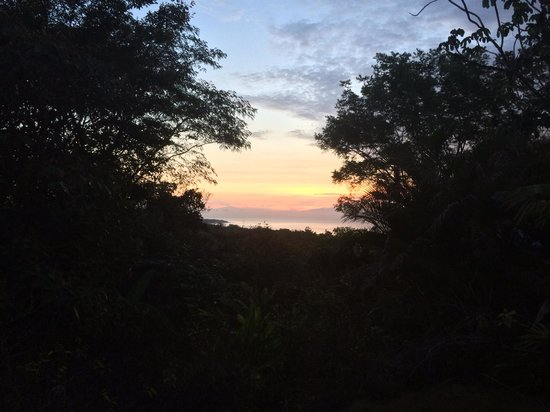 Agua Vista : Sunrise from the master bedroom