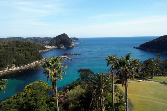 Shimoda Tokyu Hotel: View from our ocean view room.