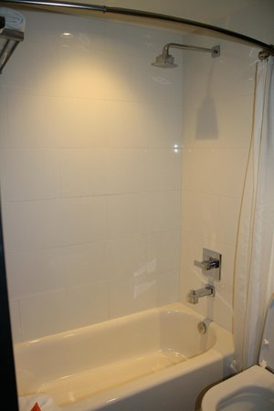 Room Mate Waldorf Towers: No frills bathroom