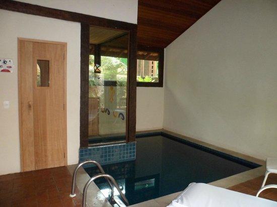 Porto Pacuiba Hotel: Sauna