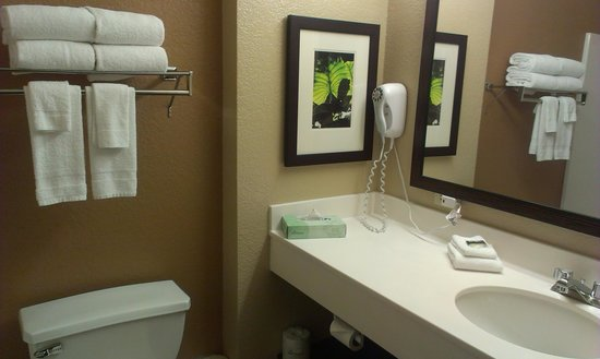 Extended Stay America - Chicago - Vernon Hills - Lake Forest: Bathroom - 1