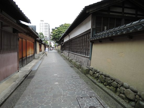 Nagamachi District : 昔の雰囲気がつたわります。