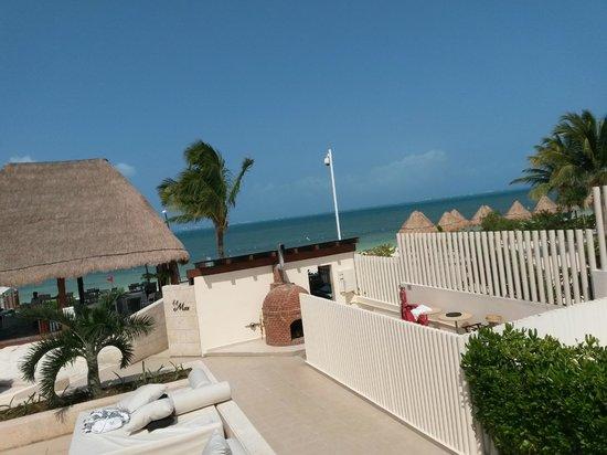 Beloved Playa Mujeres: Restaurante El Mar.