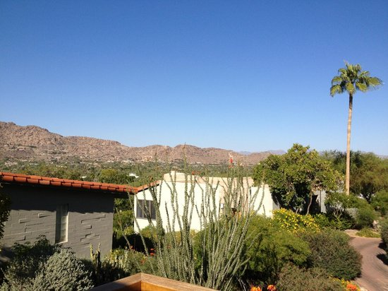 Paradise Valley, AZ : View from Mountain casita room