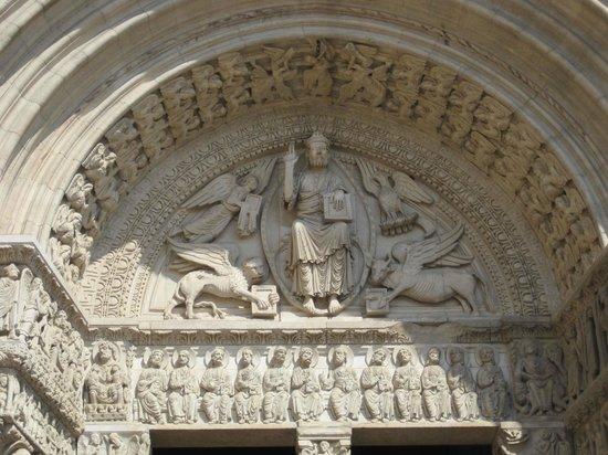 Eglise St-Trophime: Portale, particolare