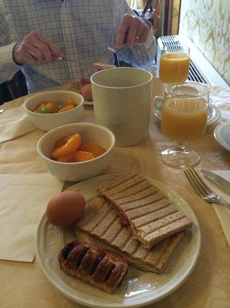 Palazzo Priuli: breakfast