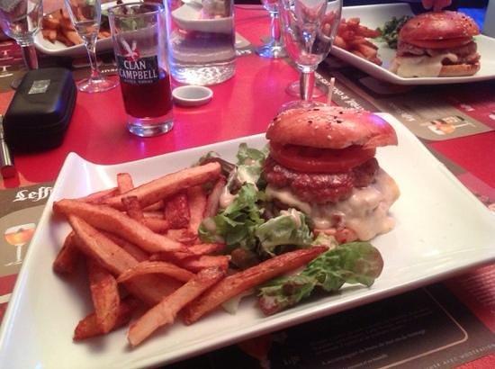 Bistrot du Marche: burger maison