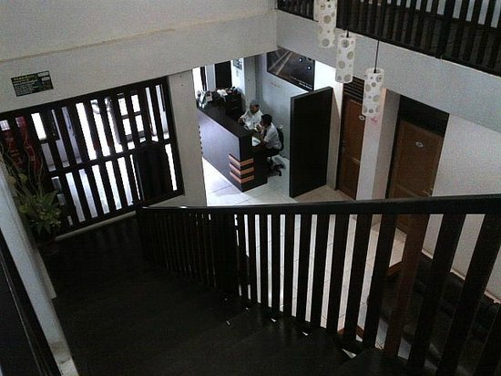 Shafwah Inn: Front Desk