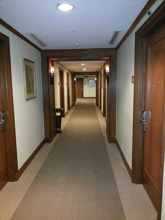Novotel Solo: The room corridors