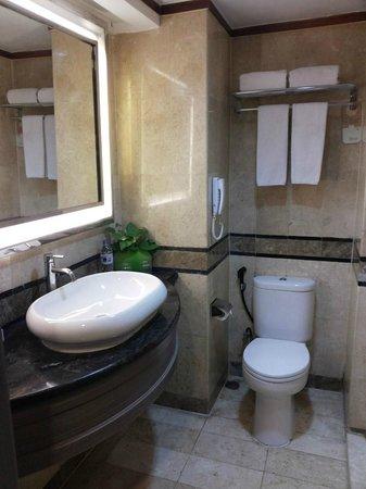 Novotel Solo: bathroom