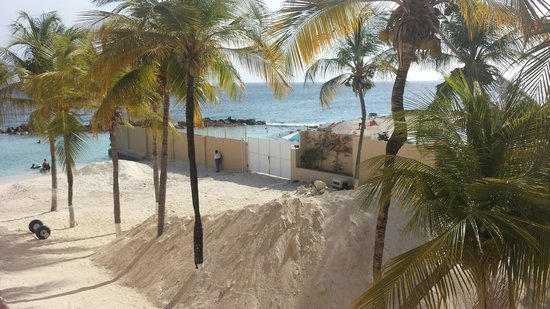 "Sunscape Curacao Resort Spa & Casino: Sand ready to top up the ""Beach"""