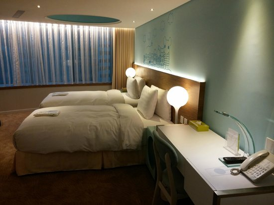 Deluxe Twin Corner Picture Of Green World Hotel Zhonghua