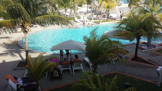 """Sunscape Curacao Resort Spa & Casino: View of """"Exclusive Pool"""" area"""