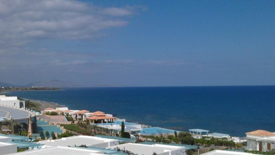 Atrium Prestige Thalasso Spa Resort and Villas: вид с балкона