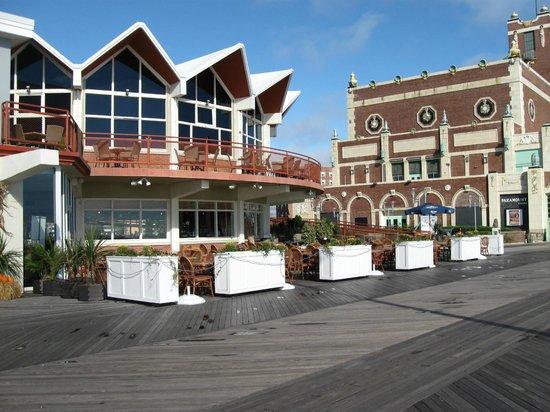 Asbury Park Boardwalk: McCloone's in 2012