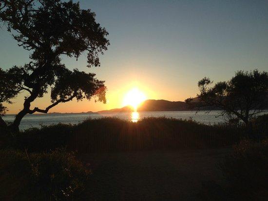 Hotel Club Marina Viva: puesta de sol desde el hotel
