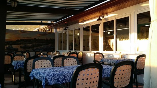 La Sirena del Mare: terrazza esterna