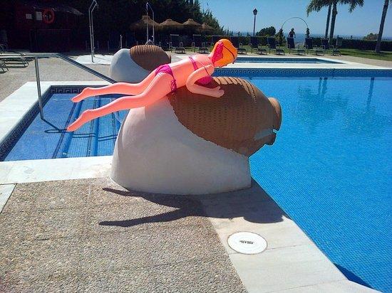 ILUNION Hacienda del Sol: Veronica by the pool!