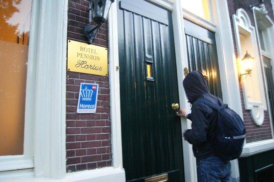 Hotel Hortus : Вход в отель