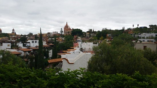 Rosewood San Miguel de Allende: View from our balcony in room 302