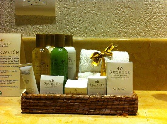 Secrets Puerto Los Cabos Golf & Spa Resort: Bath products