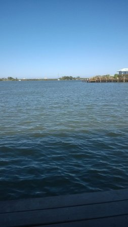 View from the Black Dolphin Inn's dock on the Indian River