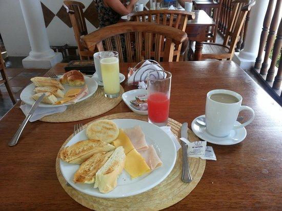 Posada Macanao Lodge : Desayuno