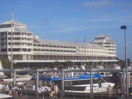 Shangri-La Hotel, The Marina, Cairns: from the Marina