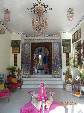 Hotel Udai Kothi : Hall