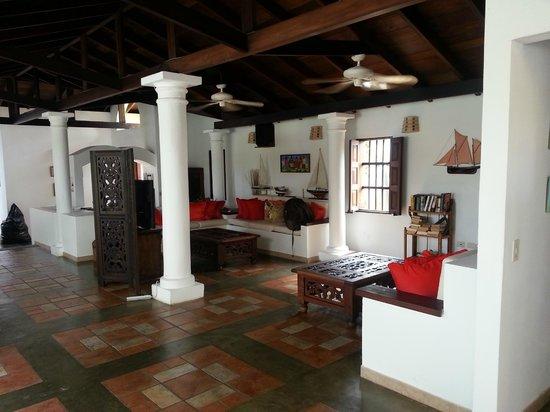 Posada Macanao Lodge : Sala de estar