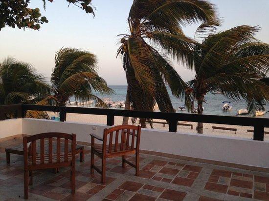 Posada Macanao Lodge: Vista desde la terraza