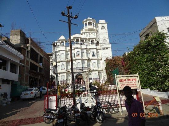 Hotel Udai Kothi : vue exterieure
