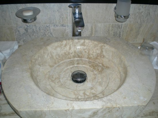 Viva Wyndham Dominicus Beach: Sink in 1st of 2 bathrooms of Suite