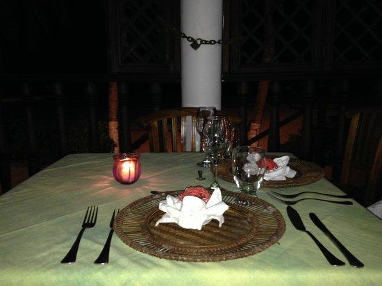 Macanao Lodge : Cena