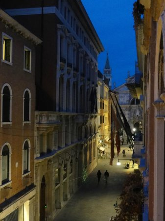 Ca' Pedrocchi : View from room, St Marks Tower in distance