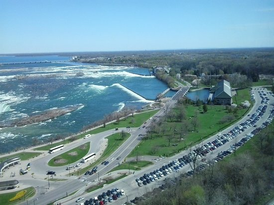 Niagara Falls Marriott Fallsview Hotel & Spa: View